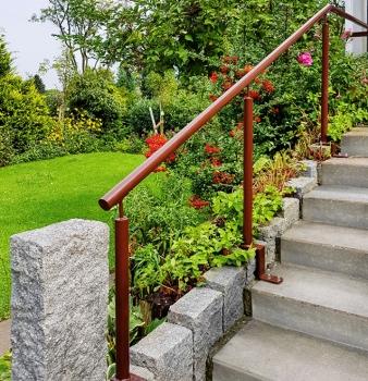 Geländer für Garten