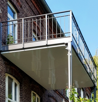 Neue Balkonanlage in Essen