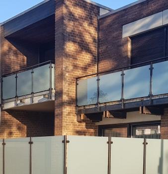 Balkon in modernem Look