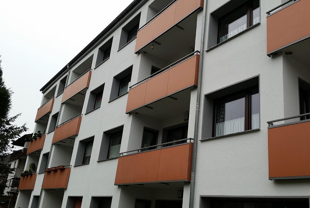 Neue Balkongeländer In Essen Werden Nappenfeld Edelstahl