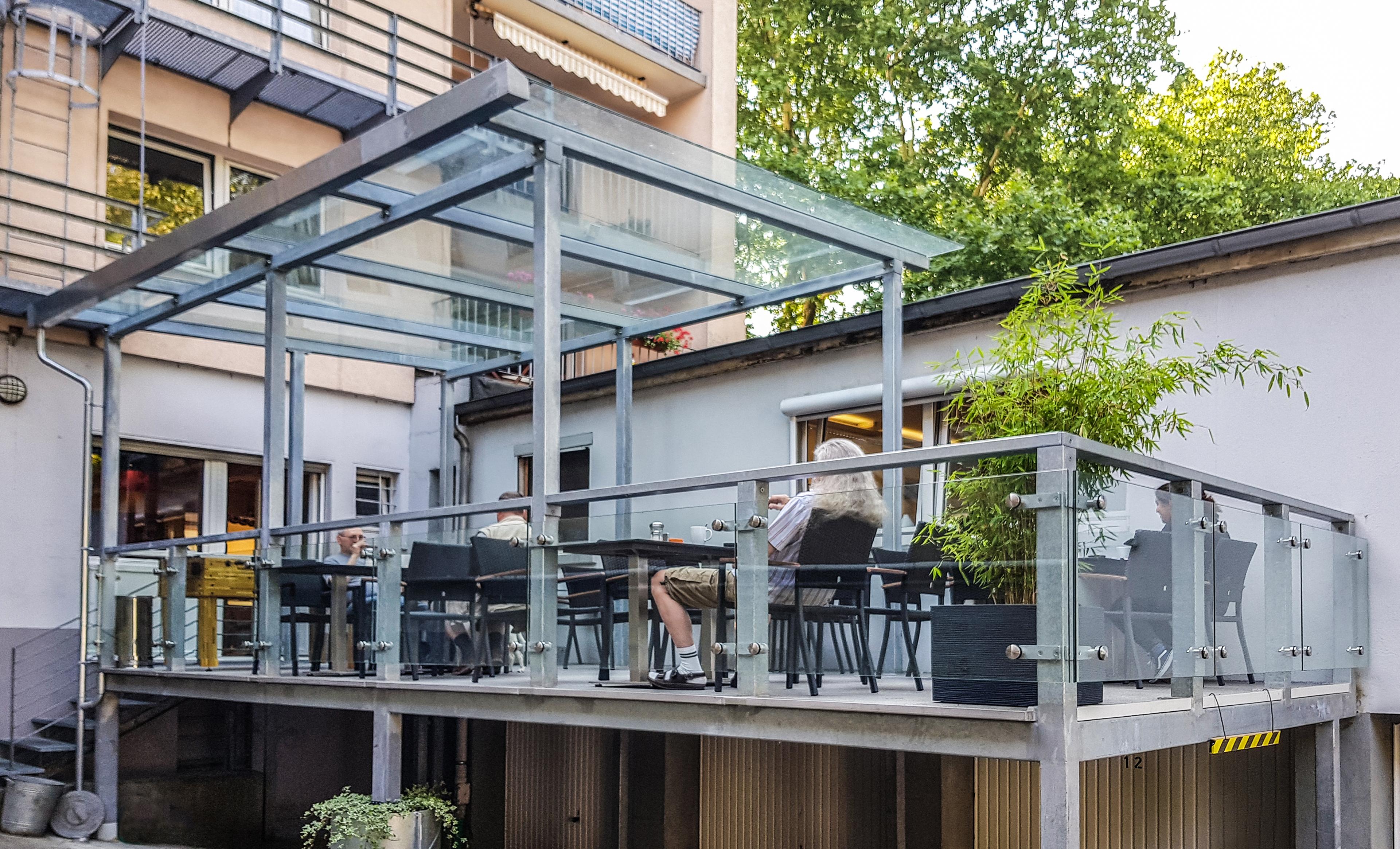 Hervorragend Überdachter Balkon - Nappenfeld Edelstahl Schlosserei in Mülheim YN24