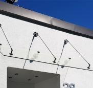 In Mülheim-Selbeck realisierte die Edelstahlschlosserei Nappenfeld aus Mühlheim ein neues Vordach