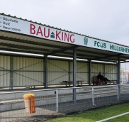 Edelstahlschlosserei Nappenfeld aus Mühlheim plant und baut Tribüne für Fußballverein in Recklinghausen