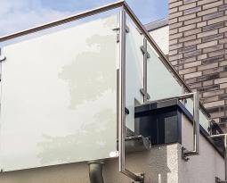 Neues Balkon-Geländer