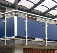 Balkonbau für MFH in Bottrop: Planung, Fertigung und Montage von der Edelstahlschlosserei Nappenfeld aus Mühlheim