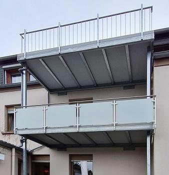 Besonderer Balkonbau in Essen