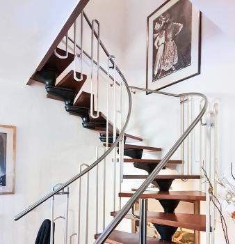 Mehr Sicherheit dank neuem Treppengeländer!