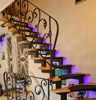 Kunstvolles Treppengeländer in Mülheim
