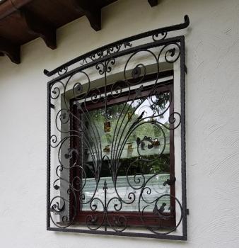 Fenstergitter in edlem Design