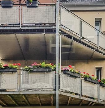 Neue Balkonanlage in Mülheim