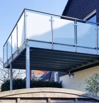 Neuer Balkon: Statik inklusive