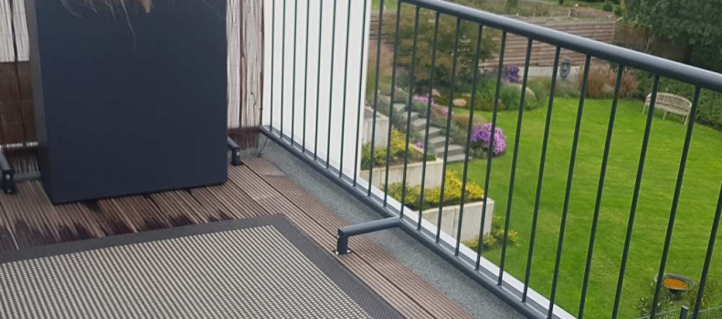 Besonderer Balkon