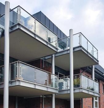 Neue Balkone