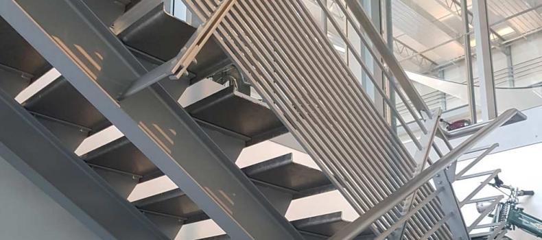 Treppenkonstruktion in Neuss
