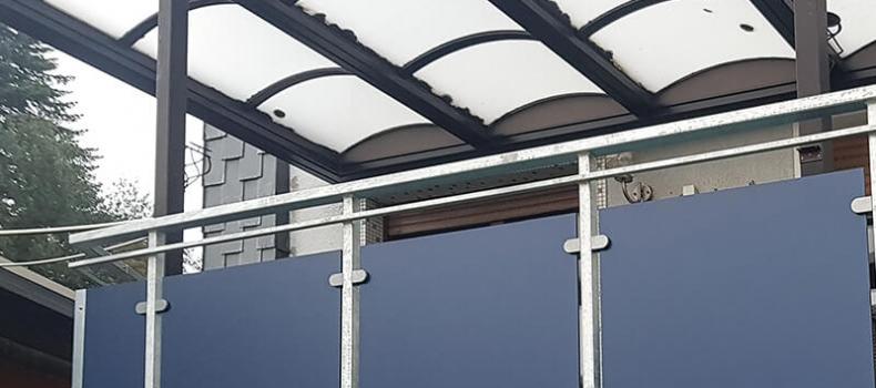 Balkonbau für MFH in Bottrop