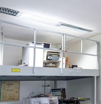 Neue Ebene für Labor